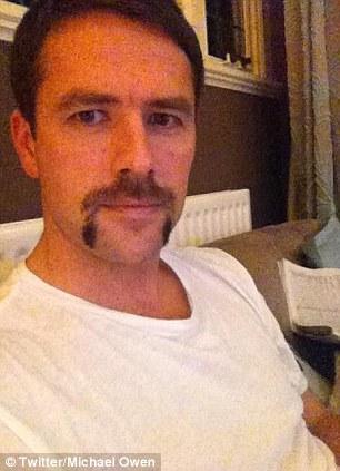 Michael Owen Movember Twitter