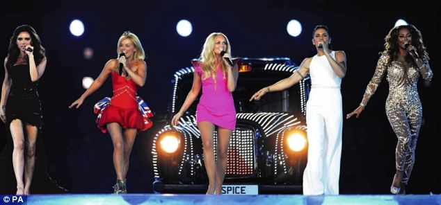 Originals: The musical is based on the music by the Spice Girls who performed during the Olympic Games Closing Ceremony