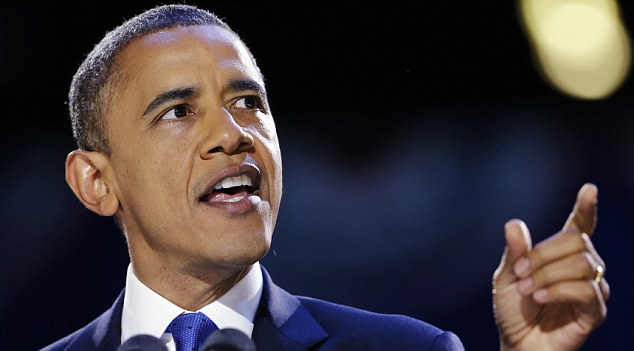Fresh hope: President Obama spurred on markets after saying a deal could be reached to avoid automatic tax hikes and spending cuts in the impending 'fiscal cliff'.