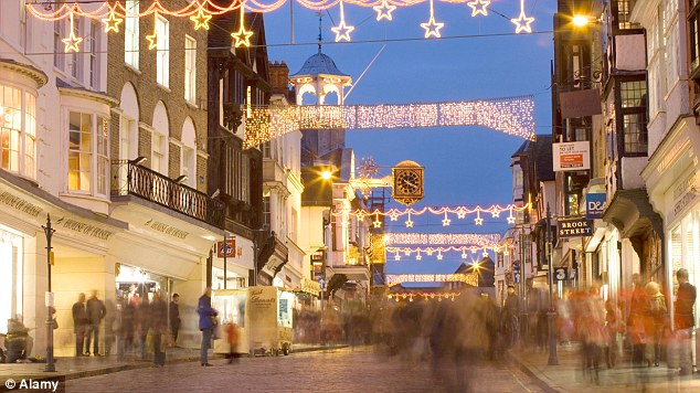 Consumer mood: A CBI report revealed improved sales on the High Street in November for the third consecutive month