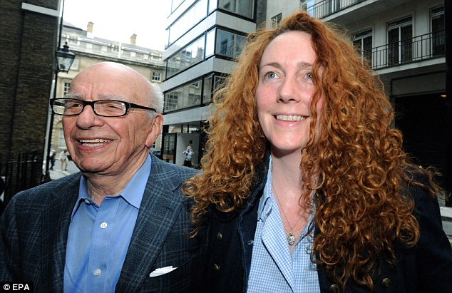 End: Rupert Murdoch shut the News of the World but stood by Rebekah Brooks but in the face of huge pressure she finally resigned because of the scandal