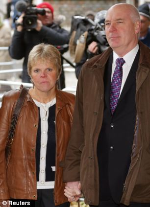Bob and Sally Dowler, the parents of murdered schoolgirl Milly Dowler, attended the release of the Leveson report in central London