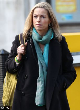 Kate McCann, mother of missing child Madeleine, was at the QEII centre for the report's publication