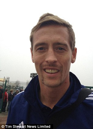 Peter Crouch Movember effort