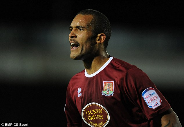 Busy time: Clarke Carlisle moved back to Northampton in Movember