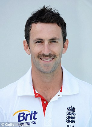 Graham Onions of England poses for a portrait on November 13, 2012 in Ahmedabad, India.