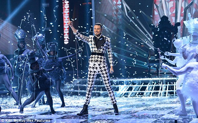Guilty pleasure: Rylan caused controversy on the X Factor with his flamboyant performances, but was finally booted off last week