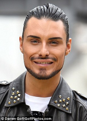 New job: Rylan Clark will take over Richard Arnolds slot on Daybreak while the former Strictly star goes on holiday next week