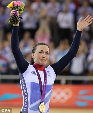 'Being just a small part of the London Olympics is something I'll always have,' said Victoria