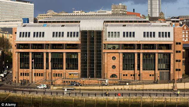The Law Courts on Newcastle upon Tyne's Quayside, where Hope was sentenced