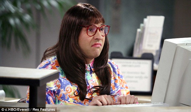 Deadpan: Fred says being 'killed off' by Equifax reminded him of unhelpful Carol Beer from Little Britain, played by David Walliams (pictured), whose catchphrase was 'computer says no'