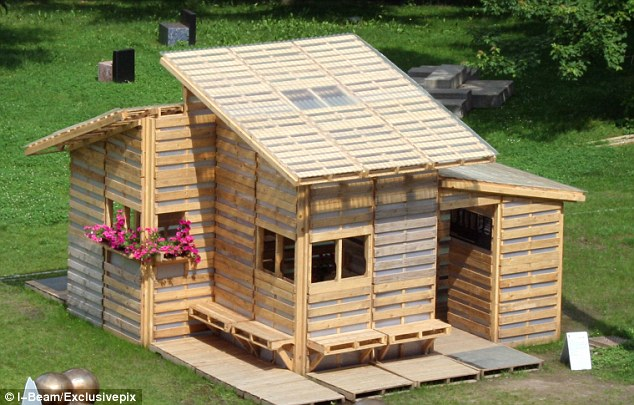 The future of homes? The Pallet House could help the 33 million refugees and displaced people in the world