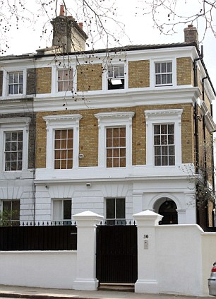 The former home of Amy Winehouse