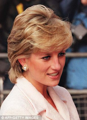 Lady Diana pictured in 1996