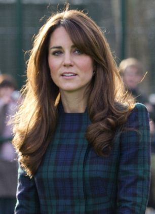 The Duchess of Cambridge at St. Andrew's School, where Her Royal Highness attended school from 1986 till 1995