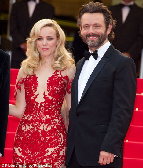 Michael and his girlfriend, actress Rachel McAdams, are keen outdoor types and regularly go cycling, swimming, skating and rock climbing together