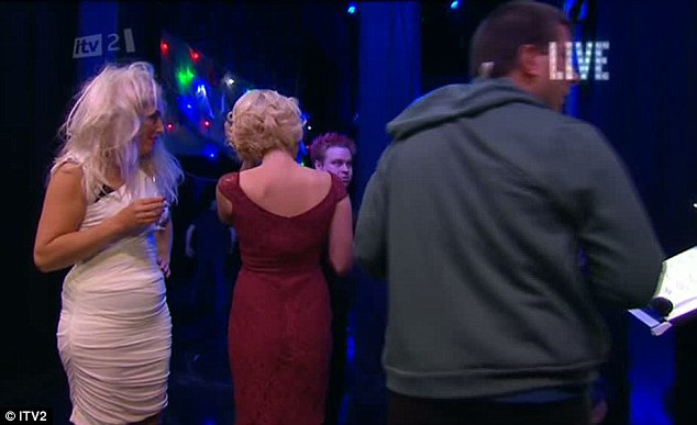 Did they know they were on camera? Arg, Lydia and Debbie didn't appear to know they were live on ITV2 at this moment