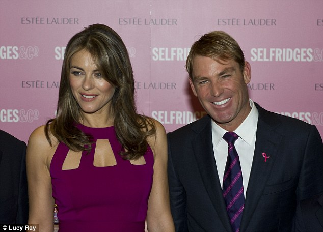 Final Warne-ing: Would Shane's other half put a block on him playing England again?