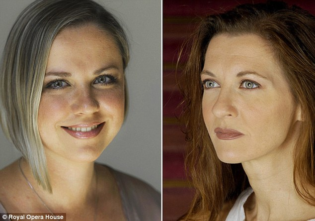The role of Princess Isablelle will now be played by Patrizia Ciofi, right, on all nights in Covent Garden apart from the final two, 18 and 21 Decmber, when Russian singer Sofia Romina will take over part