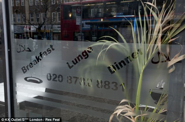 Spelling lesson: This entry caught a restaurant which offers an unusual sitting between breakfast and dinne