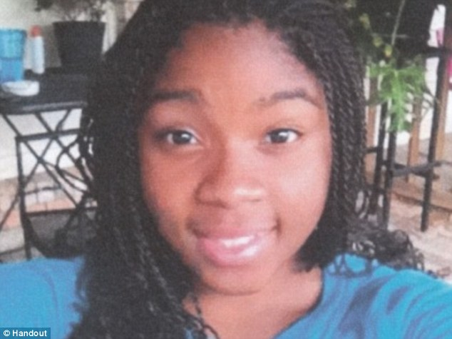 Murder victim: Shania Gray, 16, who was found shot and strangled on September 8