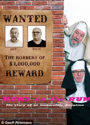 A group of friends from Jackfield, Shropshire challenged each other to see who could come up with the cheesiest recreation of a film poster - and now the hilarious results have been turned into a fundraising calendar