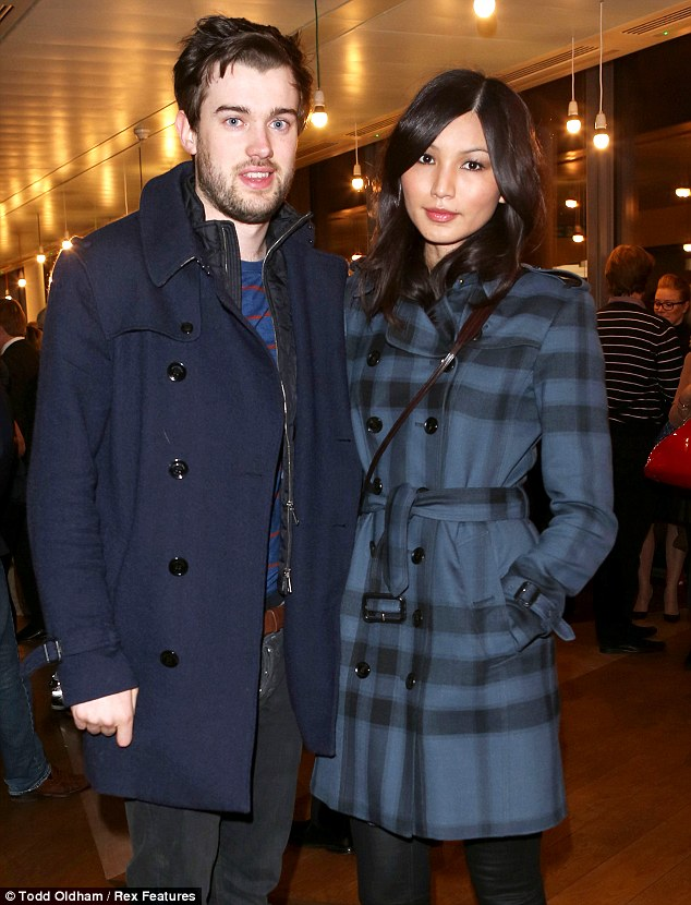 Breaking The Taboo: Jack Whitehall and Gemma Chan look slightly sombre after catching the documentary