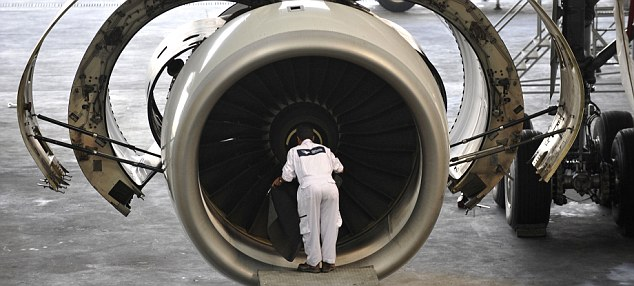 Big faller: Shares in Rolls-Royce took a hit after the aero-engines group spooked investors by revealing it had passed information to the Serious Fraud Office on allegations of malpractice in Indonesia and China.