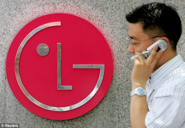 Penalised: LG was fined £313.5 million by the European Commission