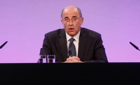 David Cameron told editors at a Downing Street summit this week that they must make rapid progress on agreeing to set up an independent watchdog in line with criteria set out in Lord Leveson's (pictured) 2,000-page blueprint