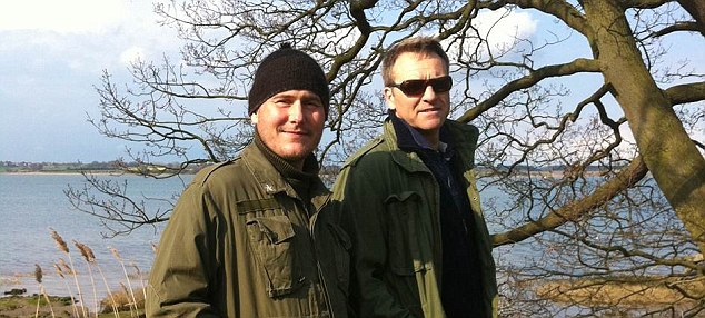 Denied: Nic, pictured here with a friend, believed he had fully disclosed all the information he could to Friends Life.