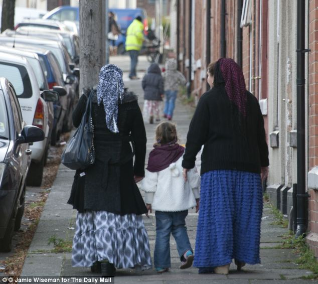Thousands of Eastern Europeans have moved to Rotherham, Yorkshire and the Slovakian couple at the centre of the UKIP fostering row have accused council staff of 'racism'
