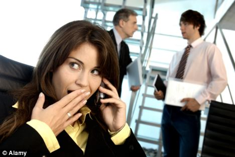 Gossip is used to warn co-workers about colleagues that are not pulling their weight