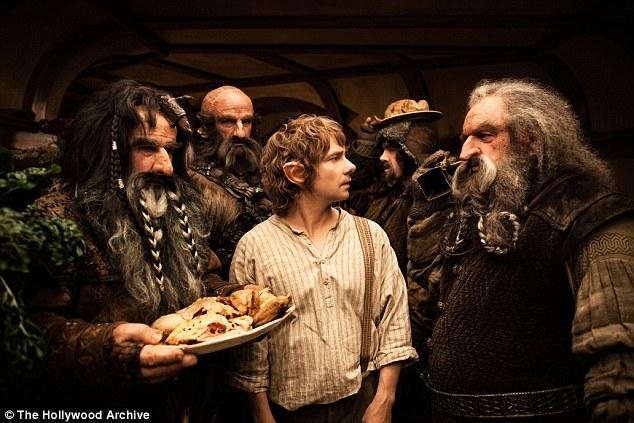 In the film, Bilbo's job is to help 13 dwarves win back their underground kingdom