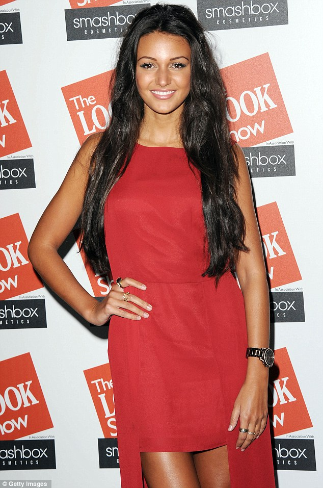 Former flame: Max was previously engaged to Coronation Street actress, Michelle Keegan