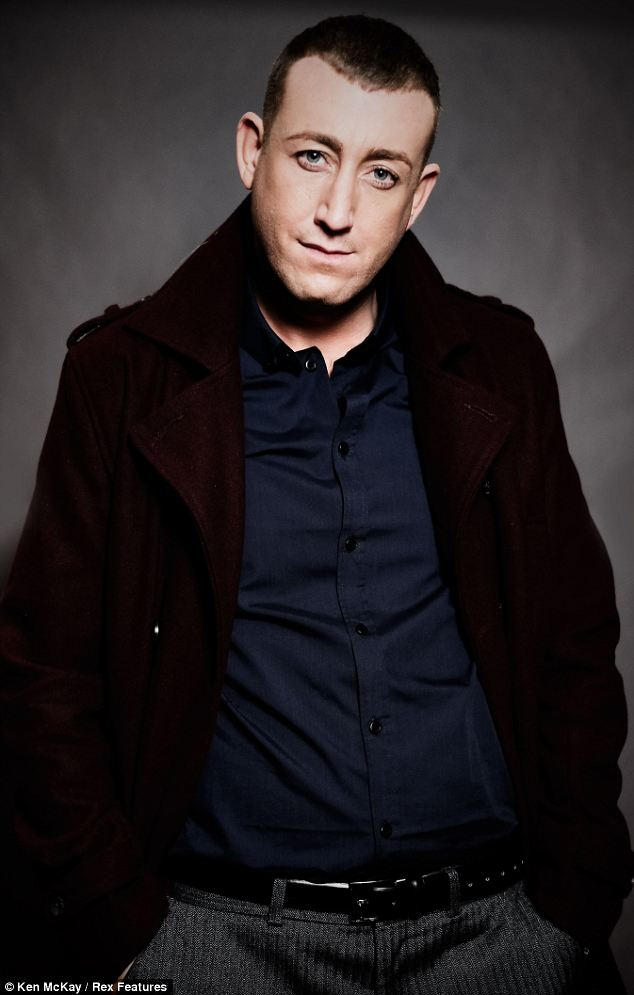 Gearing up for the big night: Christopher Maloney is preparing for the X Factor final this weekend