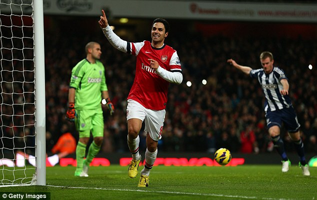 You again! Arteta scored his second penalty of the game