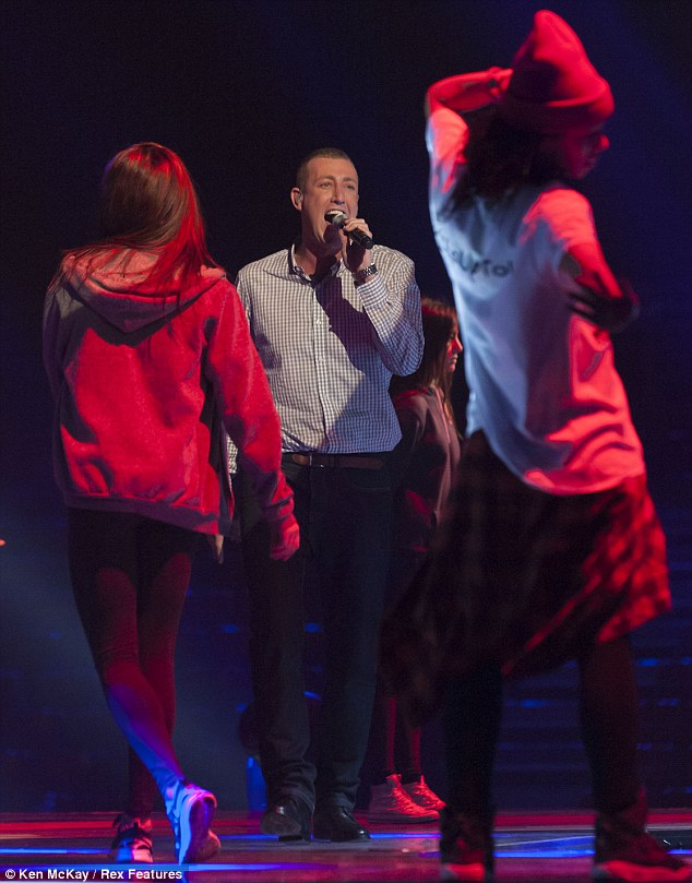 Crooner: Chris is usually known for his ballads so it seems he may be taking a risk this weekend