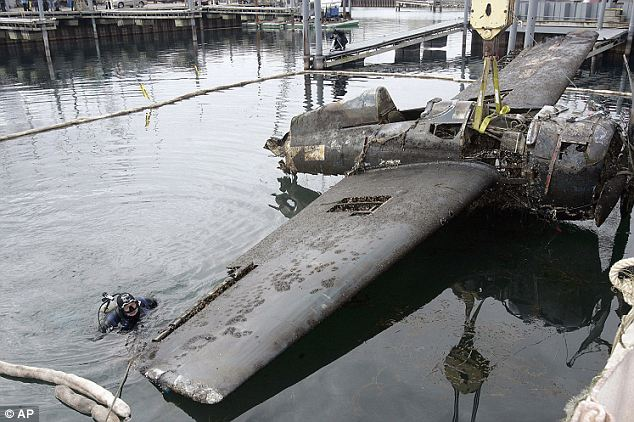 Causes: The plane crashed back on Dec. 28, 1944 while on a training mission. The pilot survived at lived until he was 85