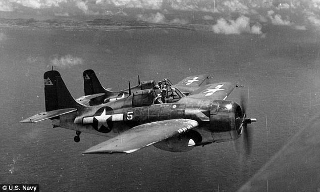 History: The FM-2 Wildcat fighter was frequently used in training machines in the area around Lake Michigan. More than 17,000 pilots completed training there, including George H. W. Bush