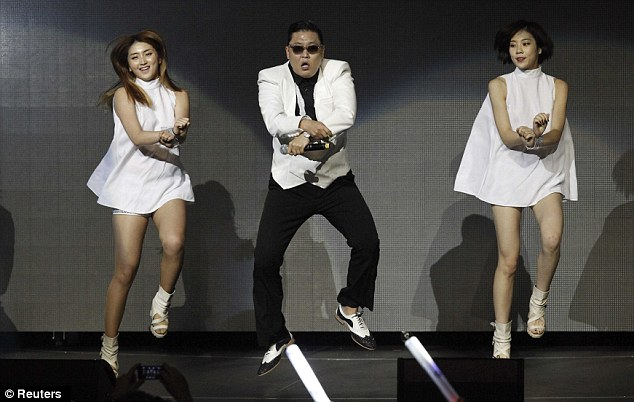 Claim to fame: PSY is famous for his patented 'sexy horse' dance