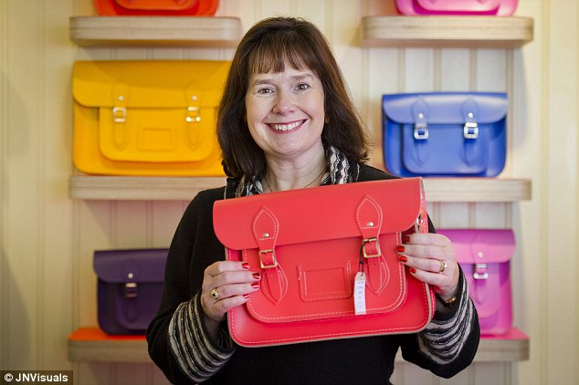 Entrepreneur: Julie Deane started the Cambridge Satchel Company to raise money to send her daughter to a different school