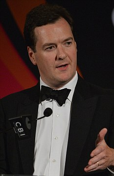 Warning: Treasury officials say that failure to stick to George Osborne's austerity plans may cost taxpayers billions