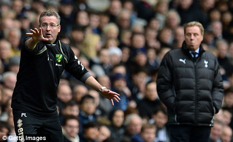 That was then: Lambert walked away from Norwich in the summer