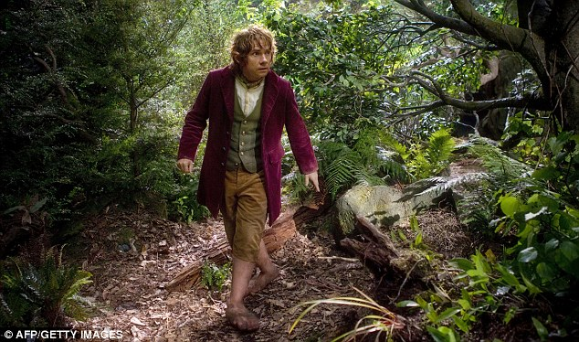 Martin Freeman plays Bilbo Baggins (pictured) in the film. He makes a humble hero out of the unadventurous hobbit plucked out of obscurity