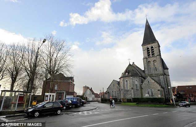 Exiles: Around a third of the 2,000-strong population of Nechin is French with many fleeing a looming new tax of 75 per cent on all earnings