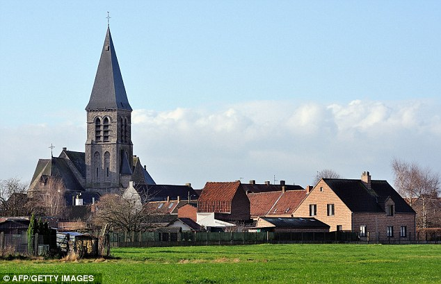 Location: The 64-year-old actor's lavish new home in Belgian the village of Nechin - on a street known as Millionaire's Row - is less than two minutes drive from the French town of Roubaix