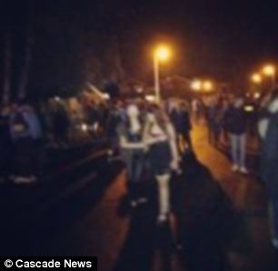 An Essex Police spokesman confirmed police had attended a house in Billericay, Essex, on Friday night to disperse a large number of teens