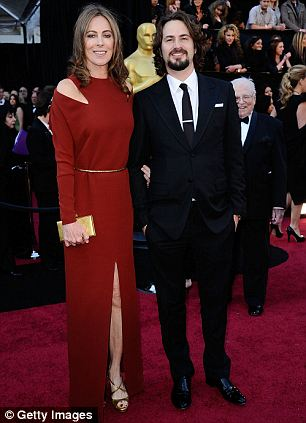 Oscar winning pair: Kathryn Bigelow (left) and Mark Boal (right) previously paired up for The Hurt Locker and Zero Dark Thirty is their latest collaboration
