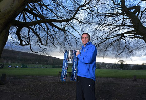 Parkinson: Bradford's boss getting to grips with the Capital One Cup
